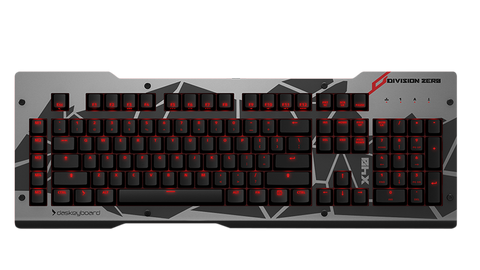Das Keyboard X40 Red LED Backlit Gaming Mechanical Keyboard