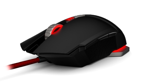 Das Keyboard M50 Pro Gaming Mouse