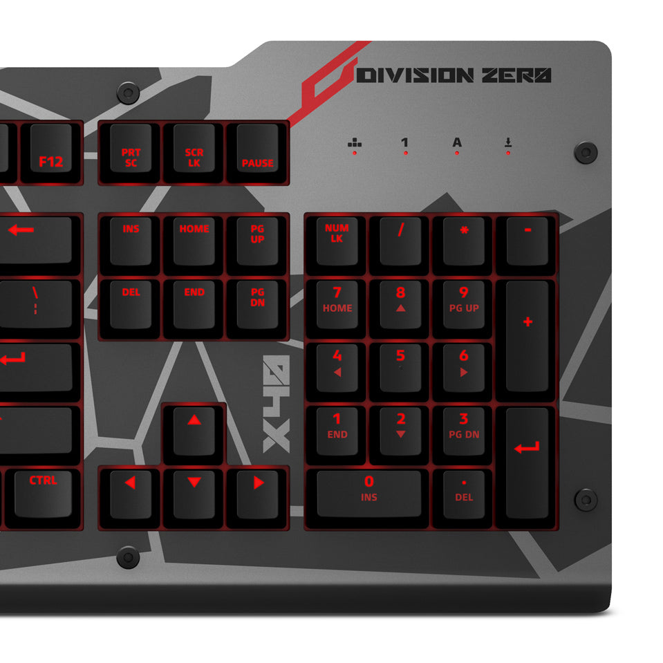Das Keyboard X40 Pro Gaming Mechanical Keyboard (Certified Refurbished)