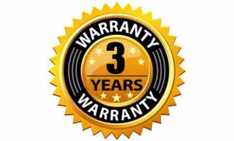 3-Year Warranty: Mouse
