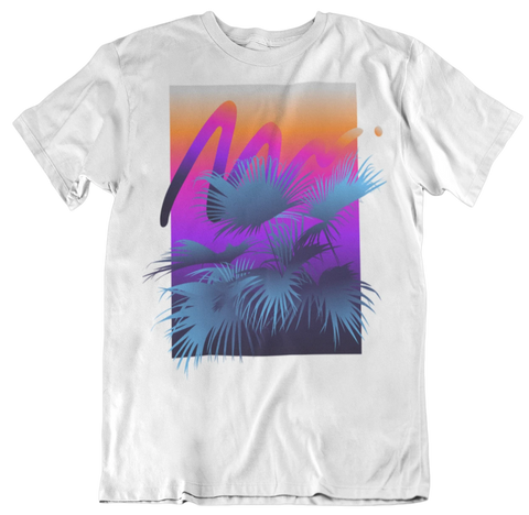Palm Sunset T-Shirt  -  2 Colors