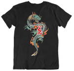 Fired Up Dragon Tshirt