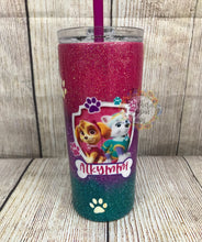 Load image into Gallery viewer, Girls Paw Patrol Kiddie Tumbler