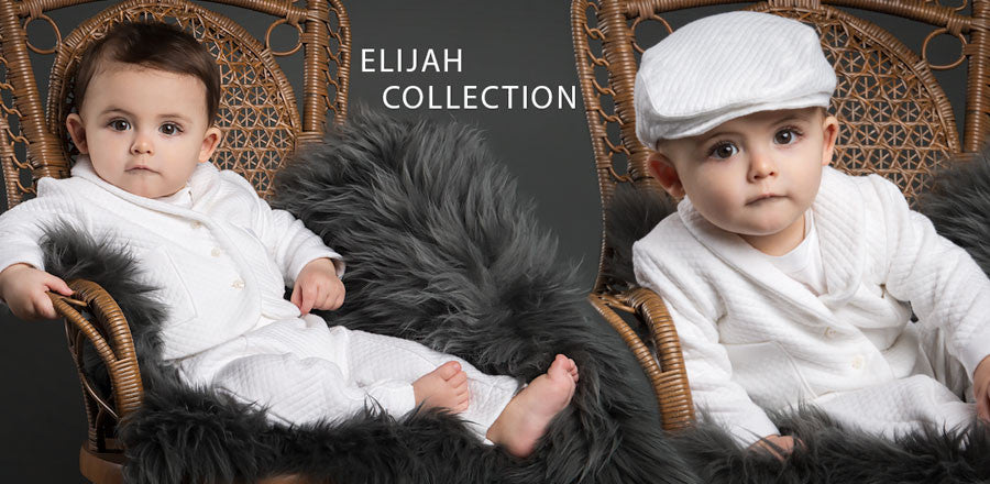 Elijah Baby Boy Suit Collection