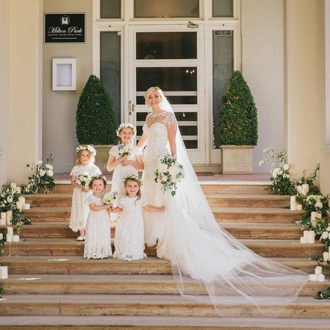 Sydney Wedding | Grace Flower Girl Dress