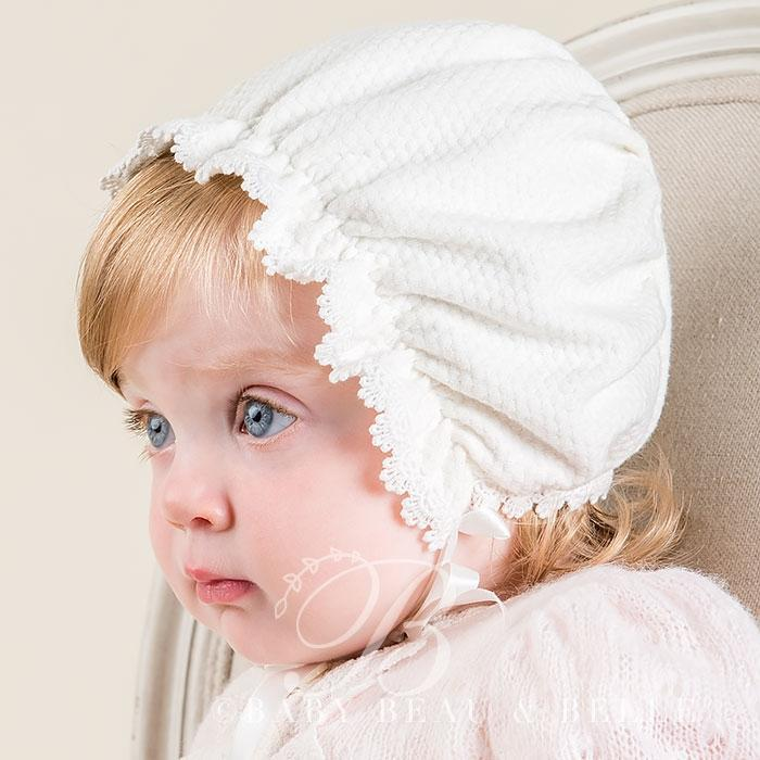 Amy Textured Bonnet - Girls Bonnet