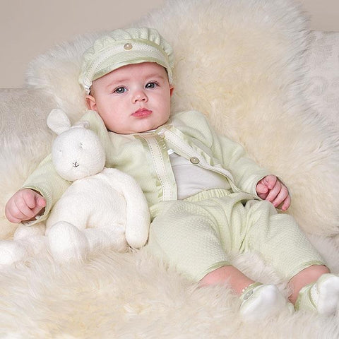 Ethan 3-Piece Set - Boys Christening Suit