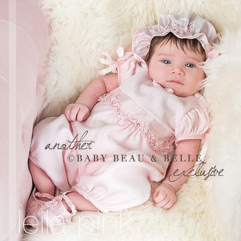 Leila Pink Jumpsuit - Girls Christening Jumpsuit