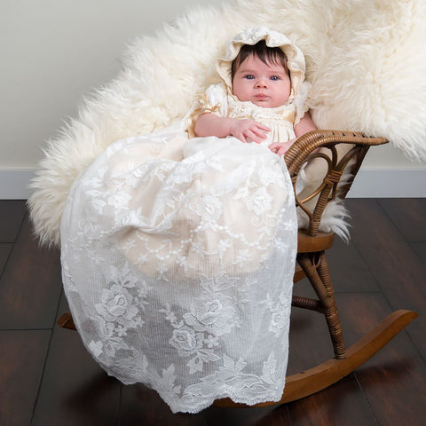 Louisa Christening Gown - Girls Christening Gown