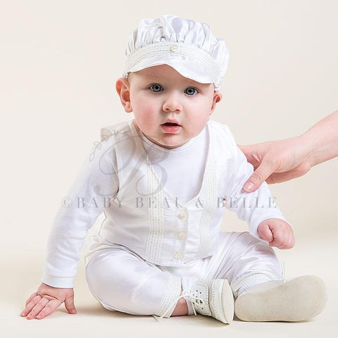 Paul 3-Piece Set - Boys Christening Suit