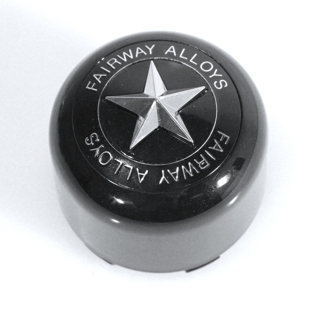 Fa9906 Pop In Star Cap Fairway Alloys Golf Cart Wheels
