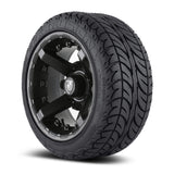 12x7 FA138M Battle on 205x30x12 EFX Fusion Lo-Pro - Custom Golf Cart Wheels and Tires