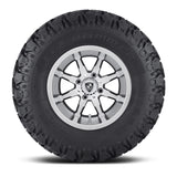 10x7 FA141 Shift on 22x9.5x10 EFX Hammer - Custom Golf Cart Wheels and Tires