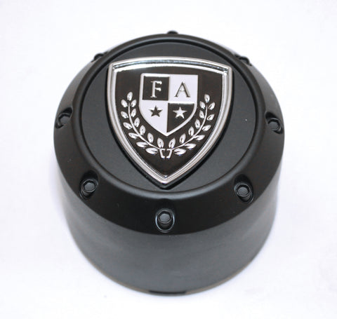 FA9908 (Pop-In) Crest Cap (Matte Black)