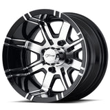 Aggressor Golf Cart Wheel - Custom Golf Cart Wheels and Tires