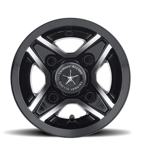 8x7 Divot Golf Cart Wheel