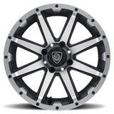 Rebel Golf Cart Wheel - Custom Golf Cart Wheels and Tires