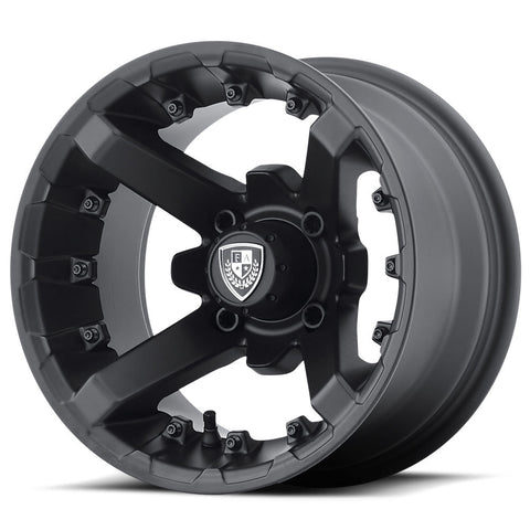 12x6 FA139 Black Flex on 215-50x12 EFX Pro-Rider