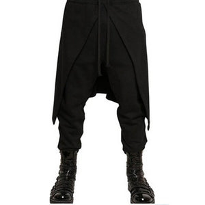 INCERUN Men Drawstring Harem Pants