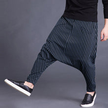 Load image into Gallery viewer, Brand Men's Pants Hiphop Harem Cross-pants