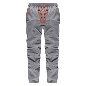 Autumn Mens Pants Casual Joggers Tracksuit Loose Fitness