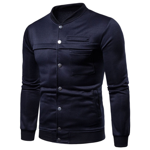 Stylish Mens Sweatshirts Long Sleeve Coats