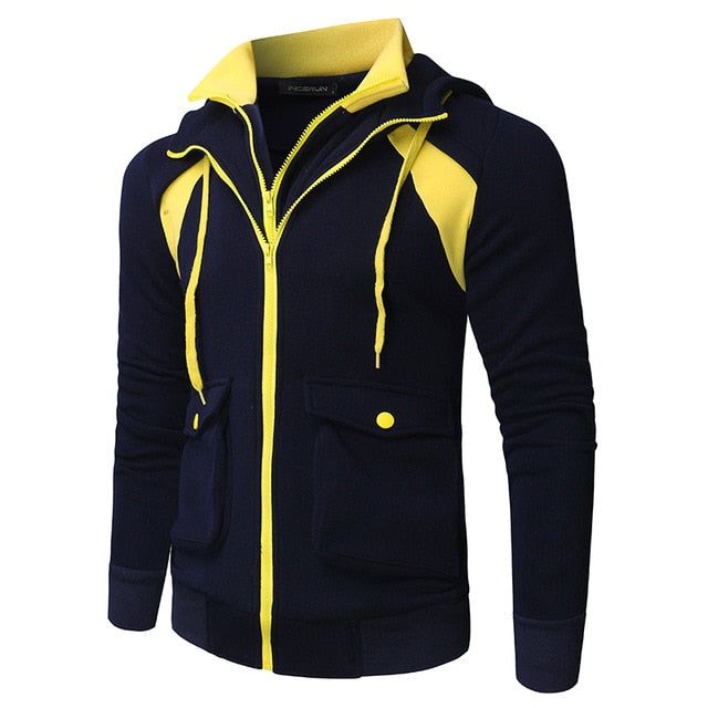 Warm Winter Mens Hoodies Fashion Sweatshirts