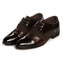 Load image into Gallery viewer, Fashion New Men Business Casual Shoes