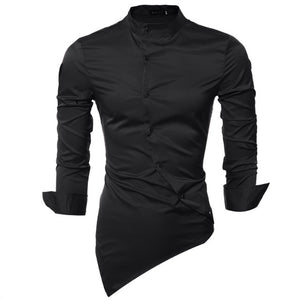 2019 New Men Shirt Male Dress Shirts