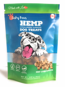 Hemp Dog Treats - Beef Liver