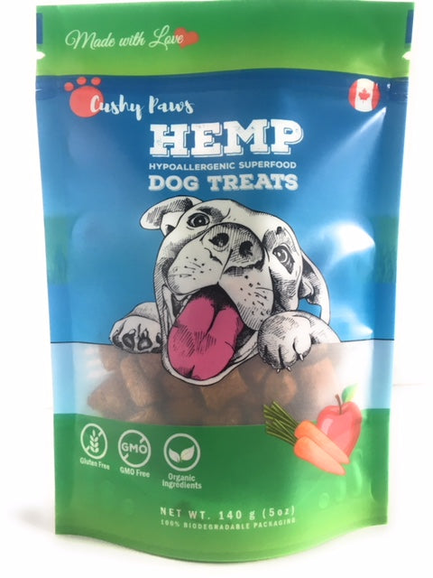Hemp Dog Treats - Apple & Carrot