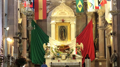 Our Lady of Guadalupe, also known as the Virgen of Guadalupe - Mexico - Catholicism QUERETANOS