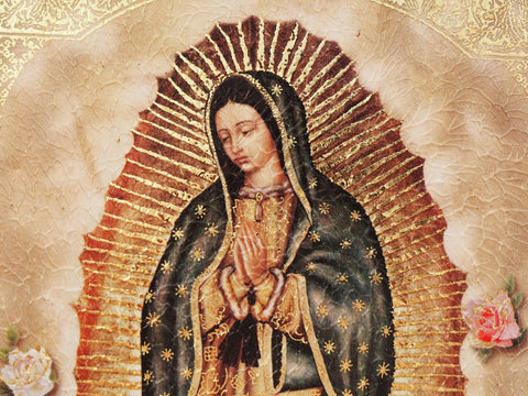 Our Lady of Guadalupe, also known as the Virgen of Guadalupe - Mexico - Catholicism