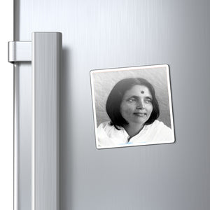 US Made - Magnets - Saints of India - Her Holiness Anandamayi Ma (Bliss permeated Mother) - a life devoted to GOD 👼