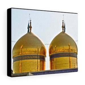 Printed in USA - Canvas Gallery Wraps omb shrine of Imam Musa al-Kadhim and Muhammad al-Jawad Iraq - Islam