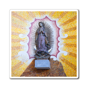 Made - Magnets - for Christians to Remember our Saints and History -- for a BLESSED Home - Virgin of Guadalupe