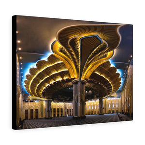Printed in USA - Canvas Gallery Wraps - Kuwait Grand Mosque interior - Kuwait- Islam