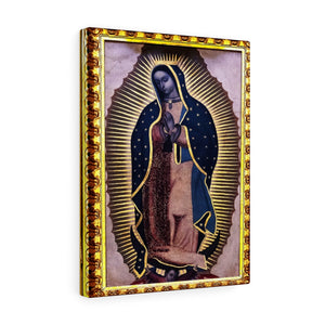 US MADE - Canvas Gallery Wraps - Our Lady Virgin of Guadalupe - Miracle apparition of Virgin Mary in 1531 to a humble peasant Indian in Mexico 👼