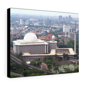 Printed in USA - Canvas Gallery Wraps - The Istiqlal Mosque - Indonesia - Sunni - Islam