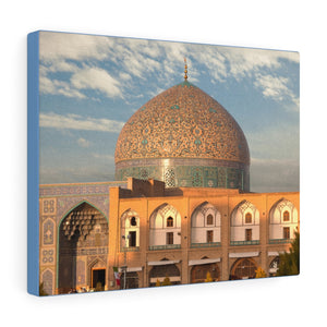 Printed in USA - Canvas Gallery Wraps - Sheikh Lotfollah Mosque - Iran - Islam