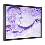 Horizontal Framed Premium Gallery Wrap Canvas - The Young Pharaoh of Egypt - Abydos - Ancient religions