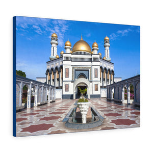Printed in USA - Canvas Gallery Wraps - Jame Asr Hassanil Bolkiah Mosque - Brunei, Asia - Islam