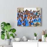 Printed in USA - Canvas Gallery Wraps - The Golden Temple School  in Amritsar, Punjab -  India - Sikhsm