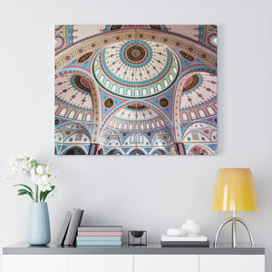 Printed in USA - Canvas Gallery Wraps -  Islam Merkez Kulliye Cami or Manavgat Central Mosque - Turkey - Islam