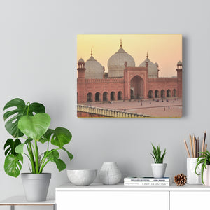 Printed in USA - Canvas Gallery Wraps - Mosque Jama Masjid of Delhi, India - Islam