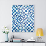 Printed in USA - Canvas Gallery Wraps for Home Decor Tiles - Oriental ornament at the Grand Mosque in Kuwait City - Islam