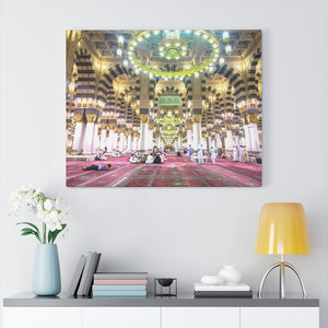 Printed in USA - Canvas Gallery Wraps - Nabawi Mosque - UAE -  Islam