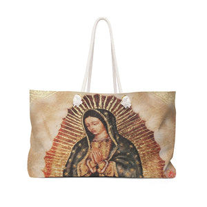 Weekender Bag - Bolso Ancho y Fuerte  - Our Lady of Guadalupe - Nuestra Señora de Guadalupe - Mexico - Catholicism