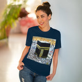 "Organic Creator T-shirt - Unisex - EU Print - Hajj pilgrimage to Kaaba - the ""House of Allah"", in the sacred city of Mecca UAE ID#1"