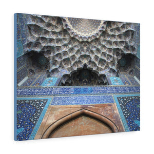 Printed in USA - Canvas Gallery Wraps - Shah (Imam) Mosque in Isfahan, Iran - Islam